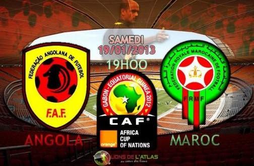 Angola Maroc Match en direct sur Al oula