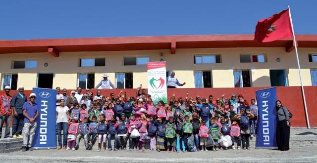Hyundai Maroc s'attaque à la construction de nouvelles écoles