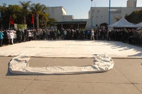 Le plus grand sac en toile du monde se trouve à Casablanca