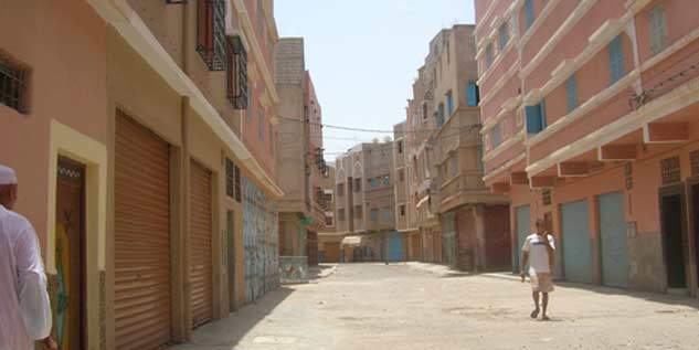 Taroudant : incendie dans le marché de gros d'Ouled Tayma