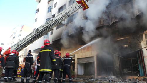 Nouvel incendie à Casablanca : neuf brûlés