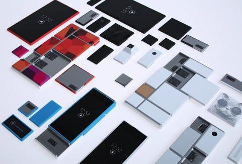 Google développe un smartphone modulable