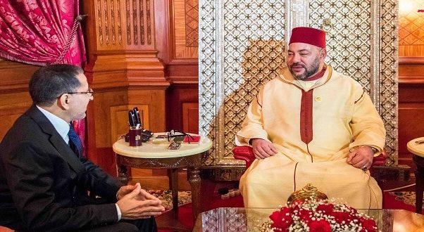 SM le Roi reçoit M. Saad Eddine El Othmani et le charge de former le nouveau gouvernement